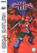"""Sega Saturn SHINING FORCE 3 Box Cover Fridge Magnet 2.5""""x3.5"""""""