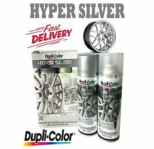 DUPLICOLOR HYPER SILVER COATING KIT 2 AEROSOL CAN FINISH HSK100 WHEEL RIMS AUTO