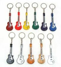 Ten (10) Handmade Wood Mini Guitar Keychain / Ornament - Variety‏‏ FREE SHIPPING
