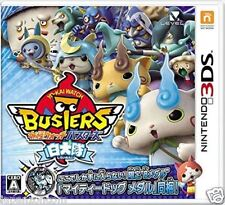 Used 3DS Yo-kai Watch Busters White Dog Squad  NINTENDO 3DS JAPANESE  IMPORT