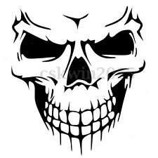 Smiling Skull Head Hood Car Sticker Decal Vinyl Graphic For Car Van Window Decor
