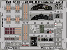 Eduard 1:72  B-17G interior S.A. Color PE Detail Set For ACADEMY #SS331