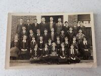 1935 Australian School Class  Photo Postcard    ( Lot P1)