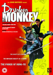 Drunken Monkey DVD Shaw Brothers Present Wu Jing Martial Arts New & Sealed