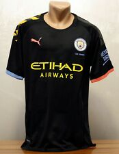 Manchester City Away Men's Football Shirt Sz L