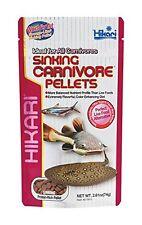 Hikari Sinking Carnivore Pellets Fish Food 74g Catfish Stingrays Plecos Arowana