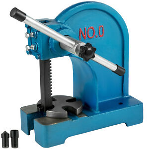 Arbor Press 0.5 Ton Lever Bench Mountable Bearing Cast Iron Manual Desktop