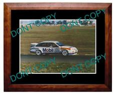 PETER BROCK FORD SIERRA LARGE A3 MOTOR RACING PHOTO