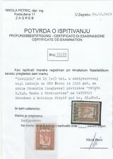 Yugoslavia Bosnia SHS 1918 -inverted overprint - certificated !