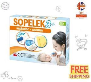 SOPELEK 3+ Aspirator nasal - 1 item SOPELEK 3+Aspirator do nosa - 1szt Katarek