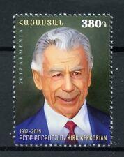 Armenia 2017 MNH Kirk Kerkorian 100th Anniv Businessman Benefactor 1v Set Stamps