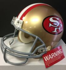 San Francisco 49ers Authentic Riddell Pro Line Full Size Football Helmet