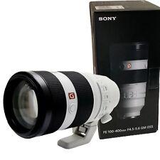 NEW SONY FE 100-400mm f4.5-5.6 GM OSS (SEL100400GM) for E Mount Full-Frame