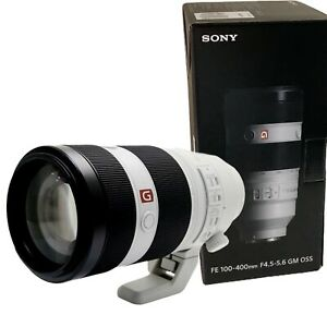 NEW SONY FE 100-400mm f4.5-5.6 GM OSS (SEL100400GM) for E Mount Full-Frame