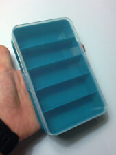 M01564-TEAL MOREZMORE Plastic Box Storage Container Organizer Small Parts T20