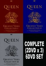QUEEN GREATEST VIDEO COLLECTION SPECIAL EDITION 1 2 3 DVD 6 Discs Set Music F/S