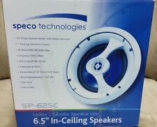 New listing Speco Sp-625C, In-Ceiling/In-Wall Speaker New - Pair