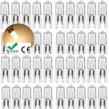 50PC bombillas halógenas G9 25W/40W60W Cálido WHTIE Lámpara claro Bombilla LED de reemplazo