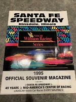 1995 Santa Fe Speedway (defunct).Official Souvenir Program.Clean.