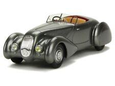 BENTLEY 4.25L ROADSTER CHALMERS & GATHINGS 1936 GREY METAL GLM 43205301 1/43