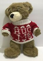 "Build A Bear Original Retired Bearemy Mascot Teddy 16"" Plush Hug Me Sweater"