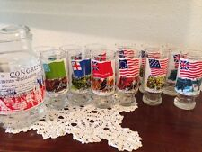 Coca Cola The Revolution Series II Water Pitcher 14 glasses Heritage Collection
