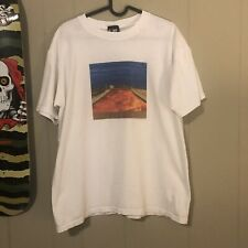 Vintage Red Hot Chilli Peppers Californication Shirt Sz L 1999 Giant White