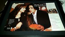 Home For The Holidays Robert Downey Jr Rare Academy Award Promo Poster Ad Framed