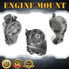Engine Motor& Trans. Mount Set 3PCS For 2002-2005 HYUNDAI XG350 3.5L 3500cc