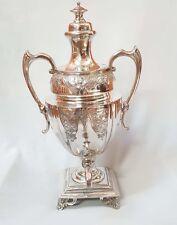 Victorian Silverplate Hot Water Urn