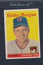 1958 Topps #144 Bobby Morgan Cubs EX *485