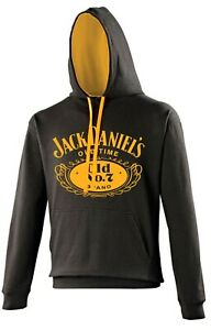Jack Daniels JD Varsity Hoodie Whiskey Jacket