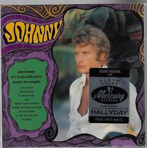 JOHNNY HALLYDAY jeune homme - cd album story Mercury tirage limité