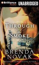 Brenda Novak THROUGH THE SMOKE Unabridged MP3-CD *NEW* FAST 1st Class Ship!