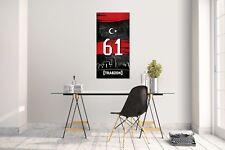 Wandtattoo Wandsticker Aufkleber Trabzon 61 Plaka Tütkiye Grösse: 120 x 70 cm