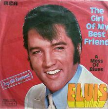 """7"""" 1968 VG+! ELVIS PRESLEY : The Girl Of My Best Friend"""