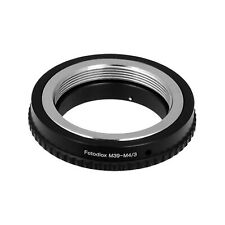 Fotodiox Lens Mount Adapter - M39/L39 Screw Mount SLR Lens to Micro Four Thir...