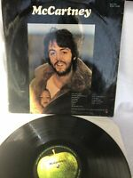 McCARTNEY 1 PAUL & LINDA MCCARTNEY 1970 DEBUT VINYL LP RECORD FIRST PRESSING.