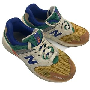 New Balance 997 Shoes Kids Size 1 Orange Blue PS997JHX