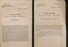 DARMSTADT  Das Großherzogliche  Ministerium  der  Finanzen Forst Verwaltung (536