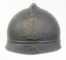 """Casque """"Adrian"""" Français WW1 du corps médical (matériel original)"""