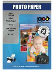 """PPD Inkjet Glossy Super Premium Photo Paper 8x10"""" 68lbs 255gsm x 50 (PPD094-50)"""