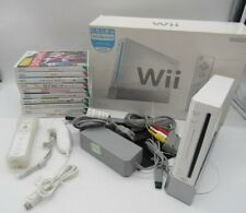 White Nintendo Wii Console, Controller and Games Bundle Boxed