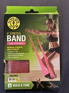 Golds Gym 6 ft Stretch Band Light Resistance
