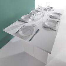 Tavolo consolle allungabile 35x120- 70x120 modello Giorgi Bianco