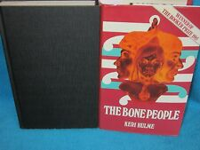 The Bone People ~ Keri Hulme. 1985 UK HbDj. WOW!   Booker Prize 1985.   in MELB!