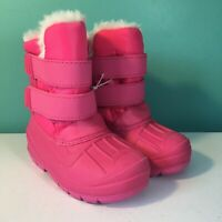 Cat & Jack Toddler Girls' Lev Winter Snow Boots Fuchsia Pink Choose Size