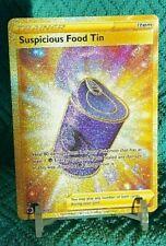 Suspicious Food Tin b080/073 Gold Secret Rare Holo Pokemon Champion Path NM/M