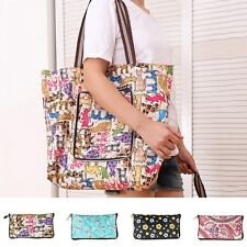 Women New Shopping Shoulder Bag Grocery Storage Tote Pouch Eco Foldable Handbag