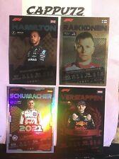 F1 TURBO ATTAX CARDS SPECIALI MANCOLISTA-TOPPS CARDS FORMULA 1 2021